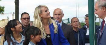 Laeticia Hallyday et Jean-Luc Moudenc