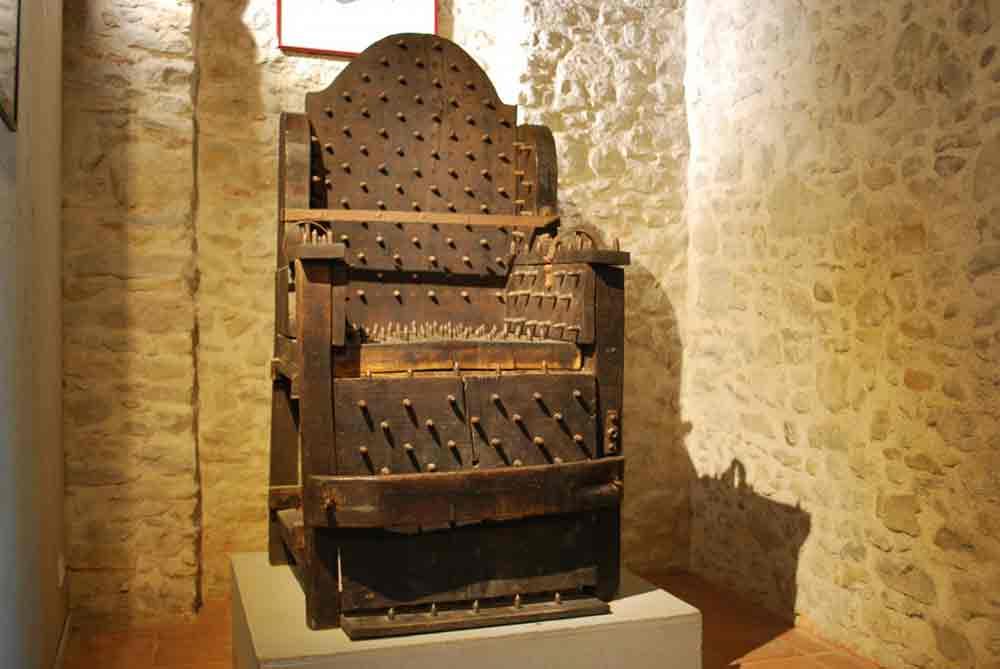 Le Musée de l'Inquisition, Musée de la torture