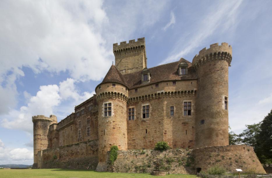 Le château de Castelnau-Bretenoux, un modèle de chateau-fort - Prudhomat -Lot - Midi-Pyrénées ...